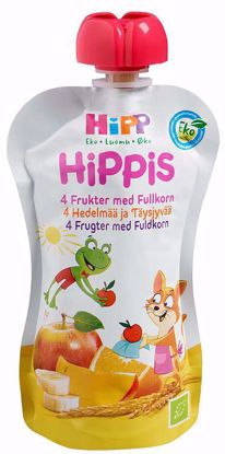 Picture of HIPPIS EPLE/BANAN/JORDBÆR 6M 100G HIPP