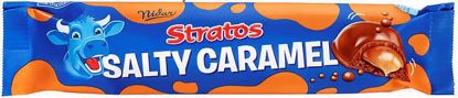 Picture of STRATOS SALTY CARAMEL BAR 37G